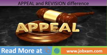 Appeal and Revision difference