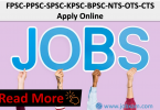 Latest Jobs in Pakistan | FPSC-PPSC-SPSC-KPSC-BPSC-NTS-OTS-CTS | Apply Online