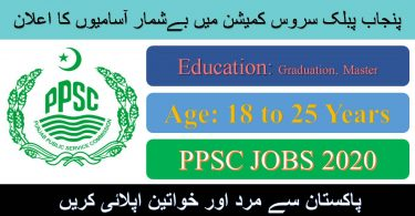 Punjab Public Service Commission New Jobs 2020 | Apply Online