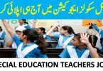 SPECIAL SCHOOLS EDUCATION PUNJAB JOBS 2020